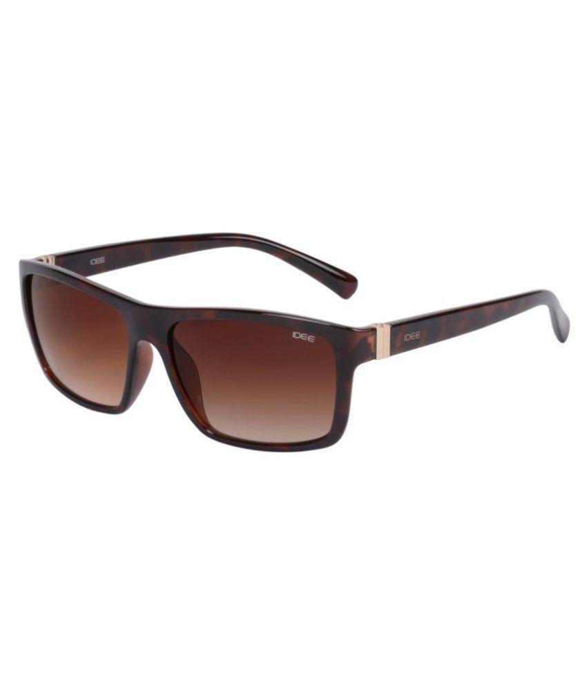 Idee Brown Wayfarer Sunglasses ( S 2074 C2 )