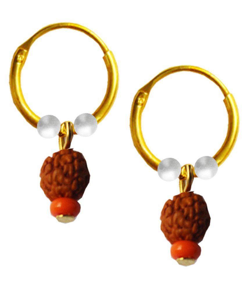 Mens Jewell Multicolor Alloy Earrings for Men