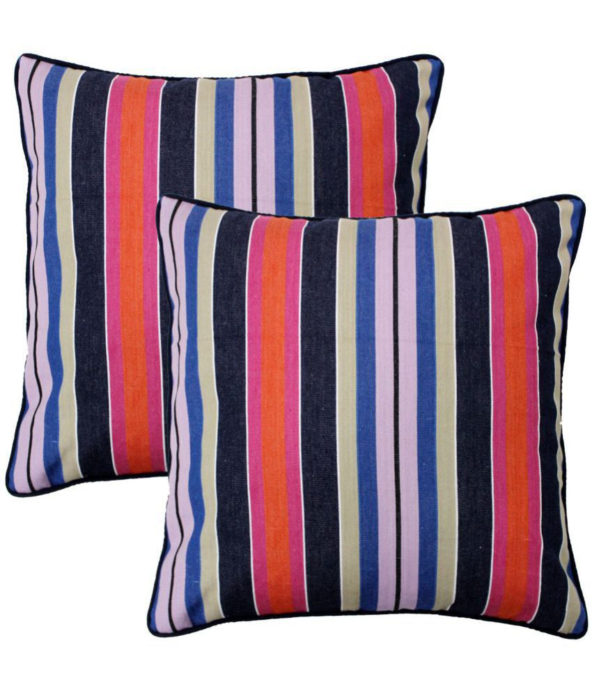 Aurave Set of 2 Cotton Cushion Covers