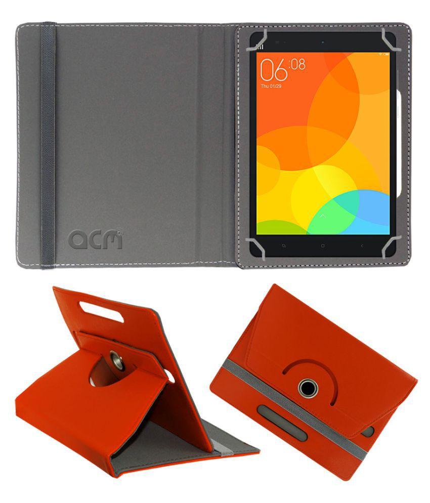 newest 9f6fc ffe5a Xiaomi Mi-Pad Flip Cover By Acm Red