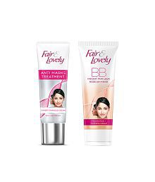 COMBO Of Fair & Lovely Anti Marks Treatment Face Cream 40 G & BB Face Cream 40 G
