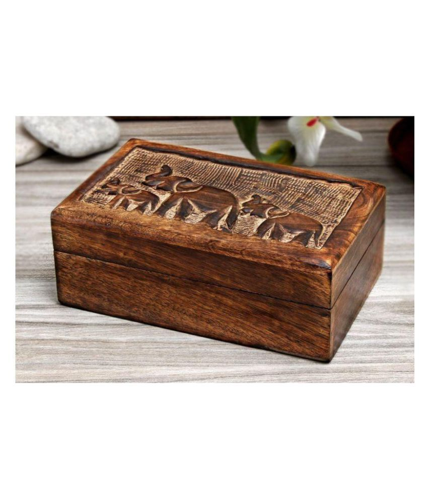 Finger's Brown Jewellery Box
