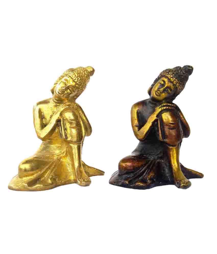 Kartique Buddha Brass Idol