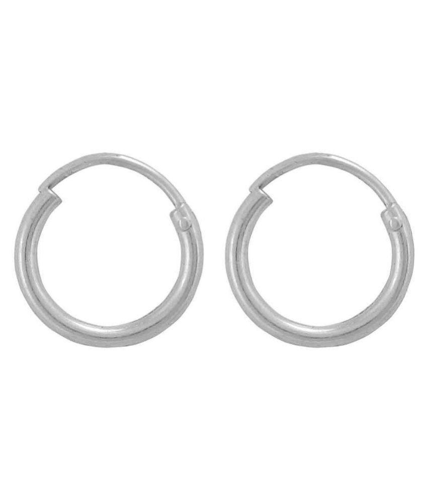 Gandhi Jewellers 92.5 Silver Agate Balis