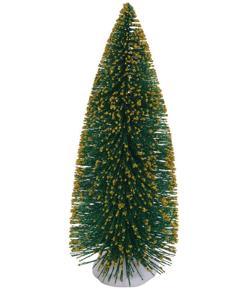 Best Price On Christmas Trees: Aapno Rajasthan Plastic Christmas Tree Green-1 Ft- (Pack