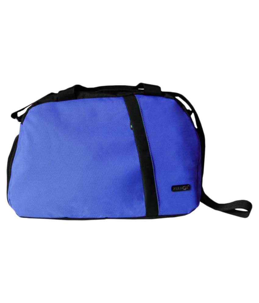 Pharaoh Blue Medium Fabric Gym Bag