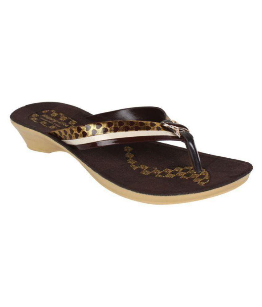 Oricum Footwear Brown Slippers