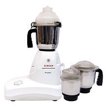 Singer Promix Mixer Grinder White And Grey