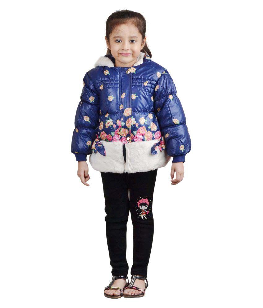 Crazeis Blue Nylon Jacket