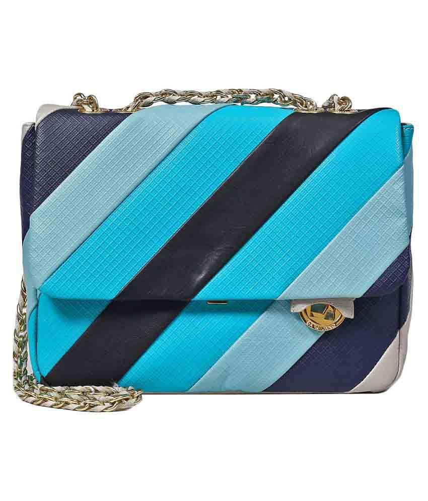 Da Milano Multi Pure Leather Sling Bag