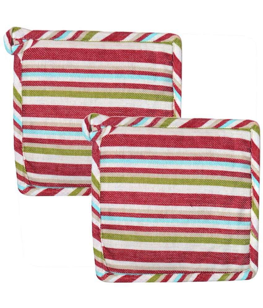 Chromatic Collections Multicolor Pot Holder - Pack of 2