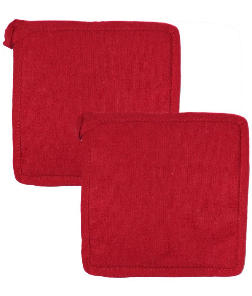 Chromatic Collections Red Pot Holder - Pack of 2
