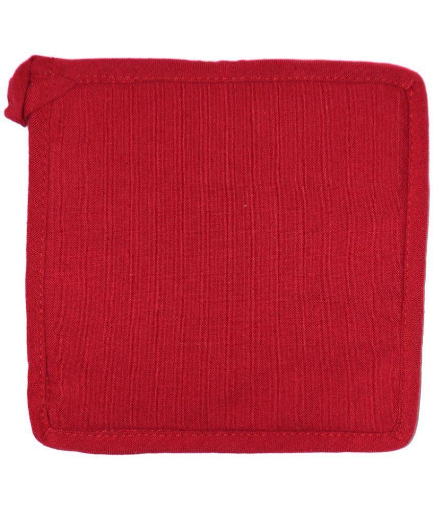 Ocean Homestore Red Cotton Pot Holder