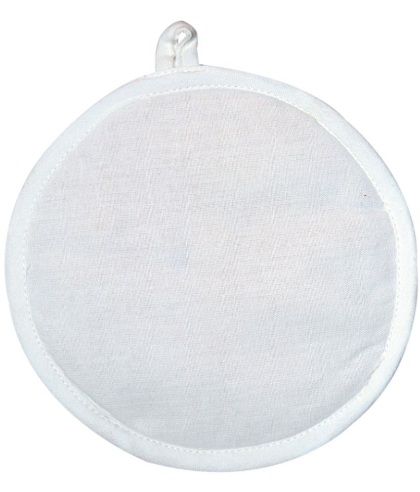 Ocean Homestore White Pot Holder