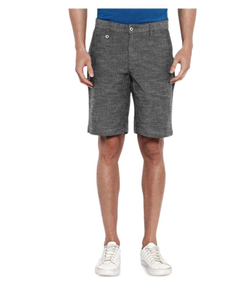 Park Avenue Grey Shorts