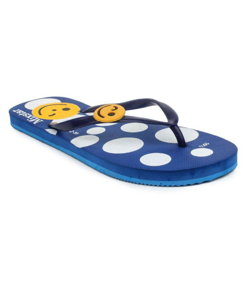 Amatra Blue Slippers