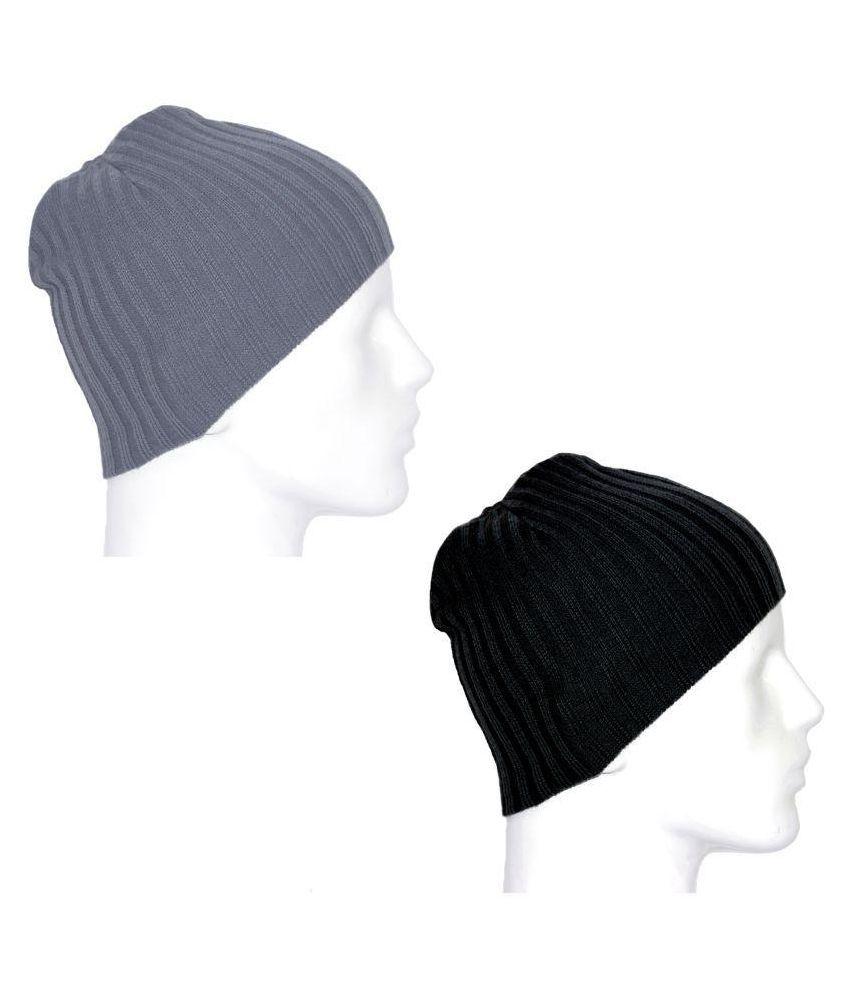 NATTY'S Multi Plain Wool Caps