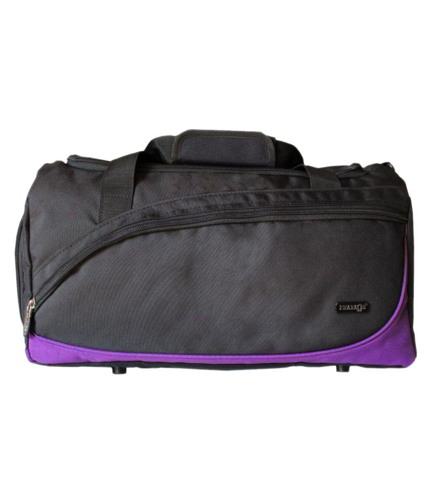 Pharaoh Purple Medium Fabric Gym Bag