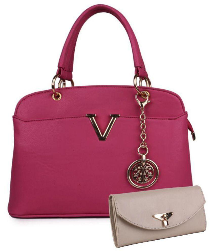 Classic Fashion Pink P.U. Combo