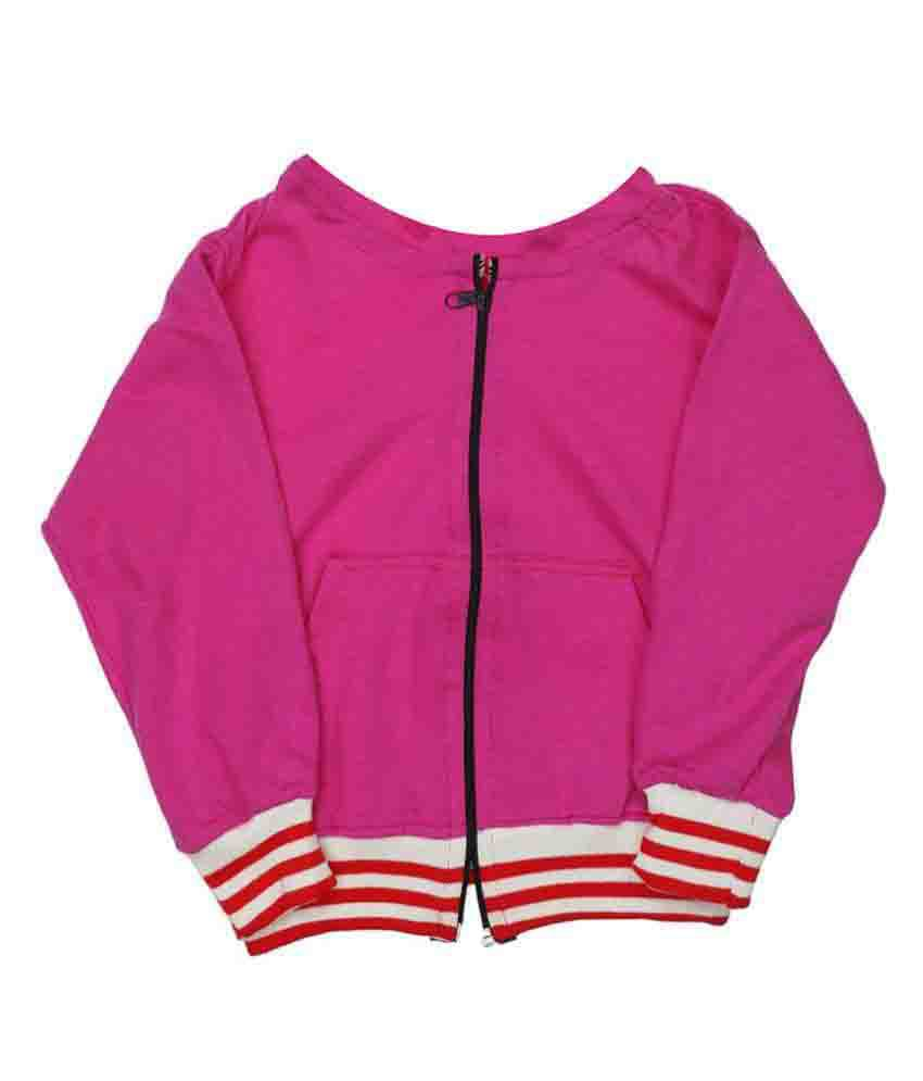 Indirang Pink jacket for Girls