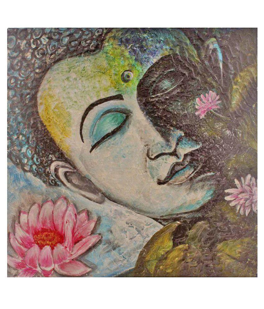 Atariya Canvas Painting With Frame Single Piece