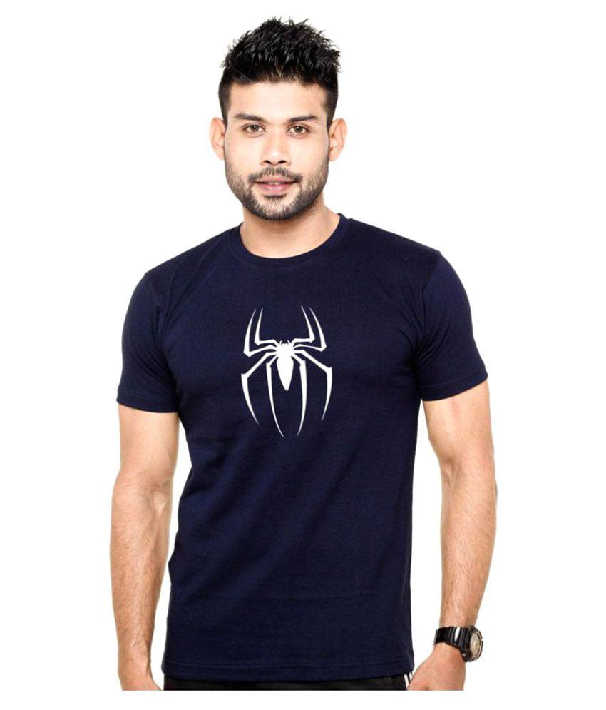 Wild Thunder Navy Round T-Shirt