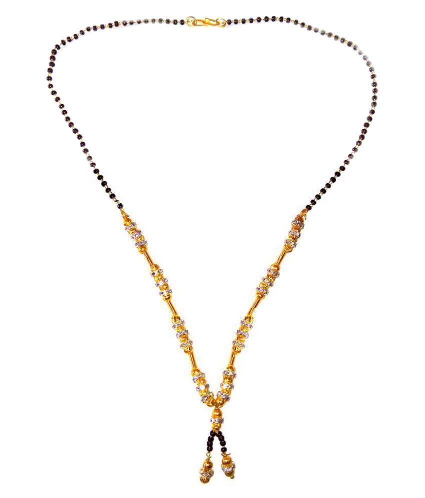 Shrungarika Fashionable Golden Mangalsutra