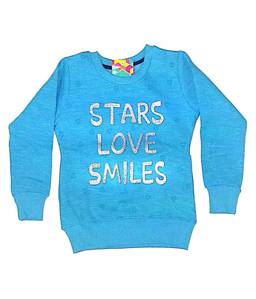 Cuddlezz Girls Sweatshirts