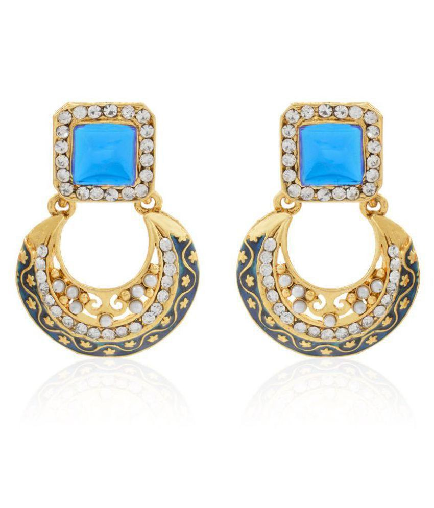 Jewels Gehna Antique Gold Plating Earrings