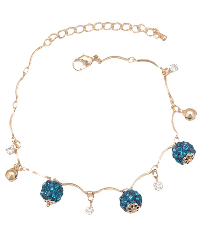 Glitters Online Multicolor Anklets