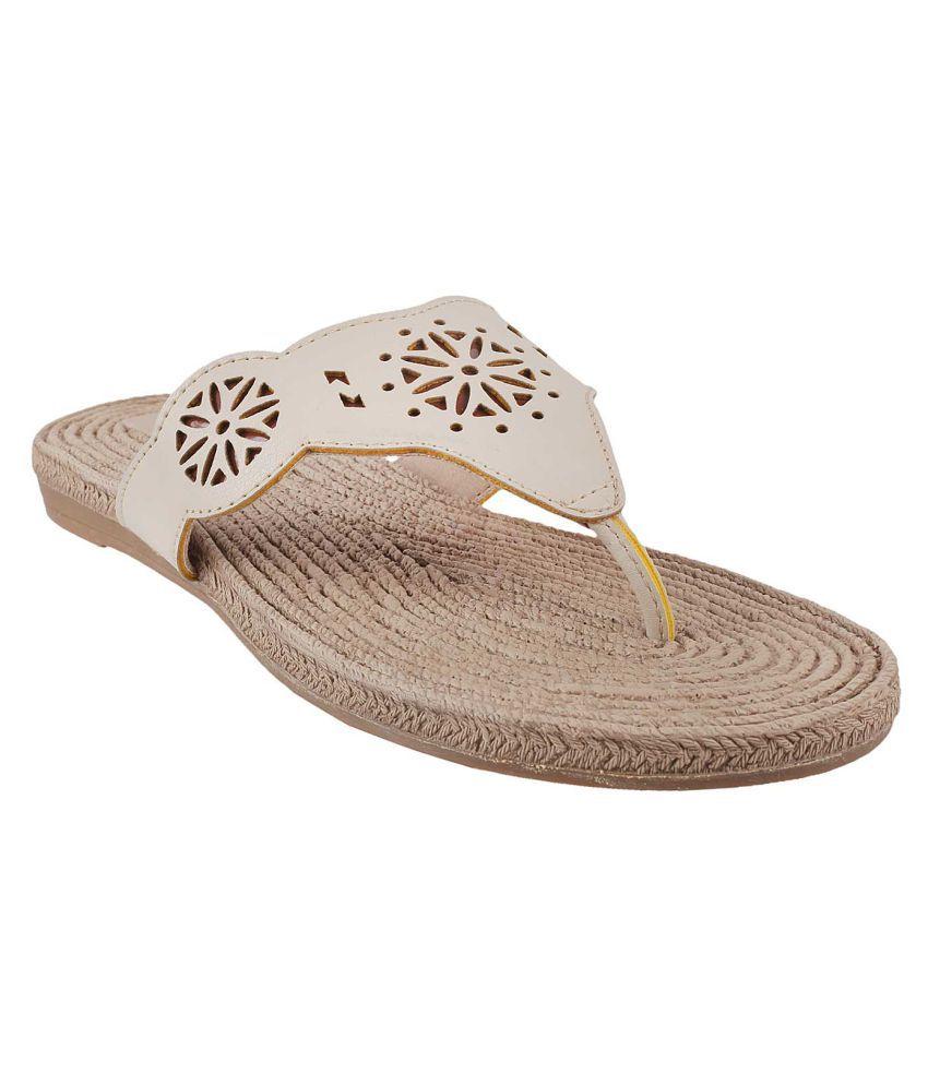 METRO BEIGE Slippers