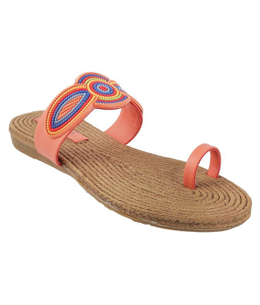 METRO ORANGE Slippers
