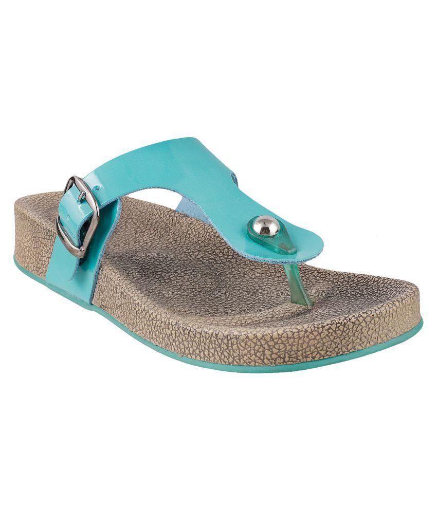 MOCHI GREEN Slippers