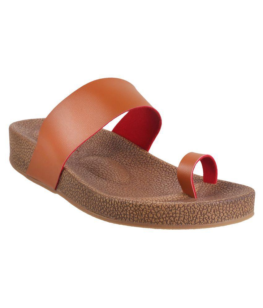 MSL TAN Slippers