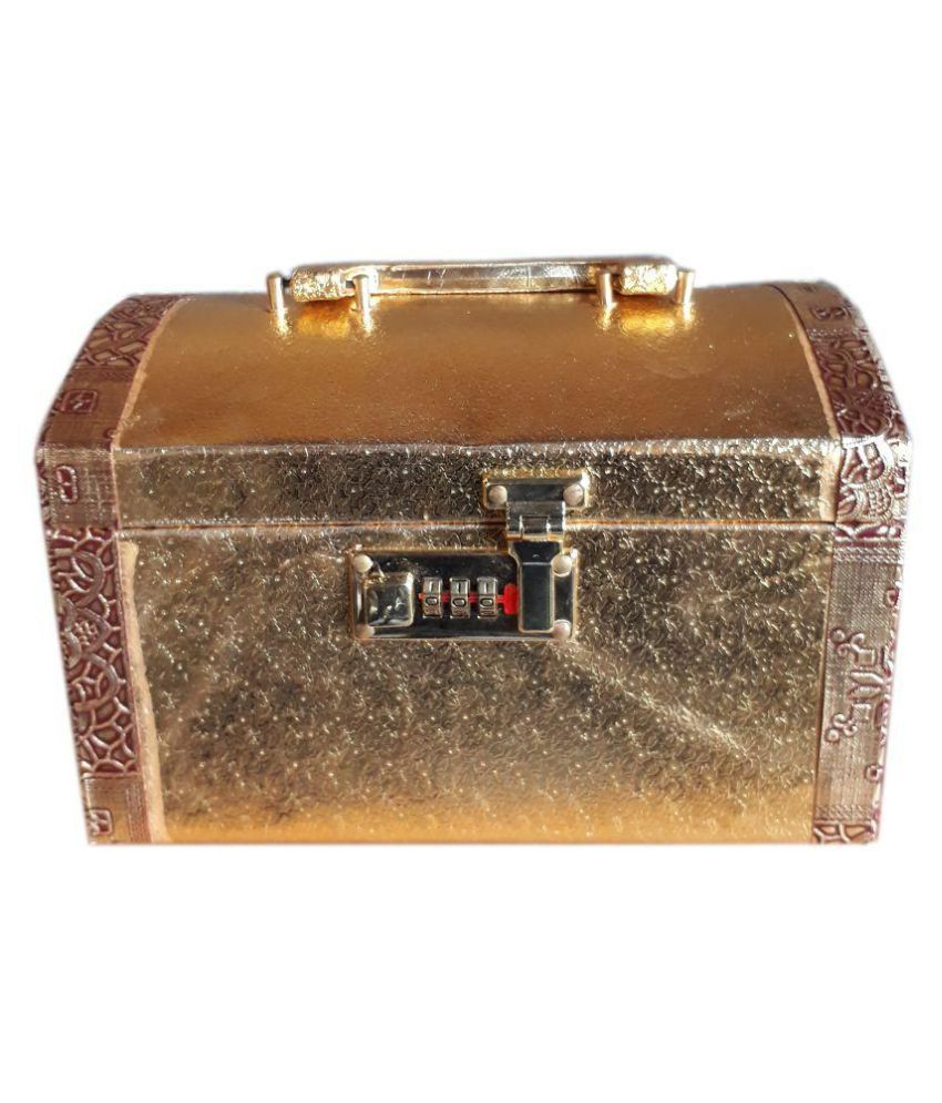 Bonanza Palki Golden Jewelry Vanity Box