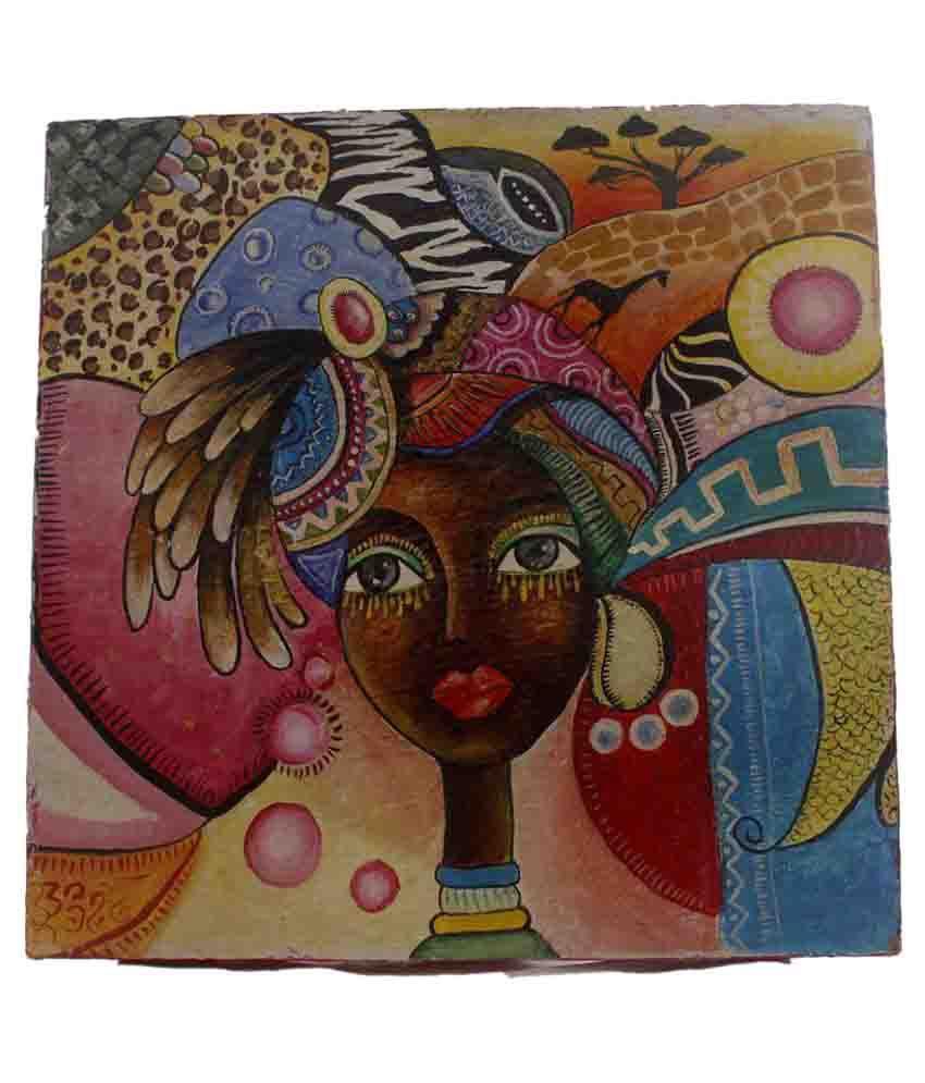 Atariya Acrylic Painting Without Frame Single Piece