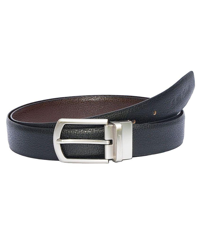 Ellie Korel Black Leather Formal Belts
