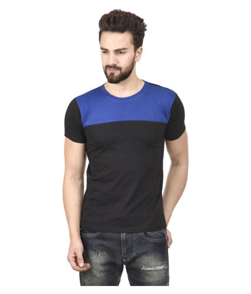 Jsck Black Round T-Shirt