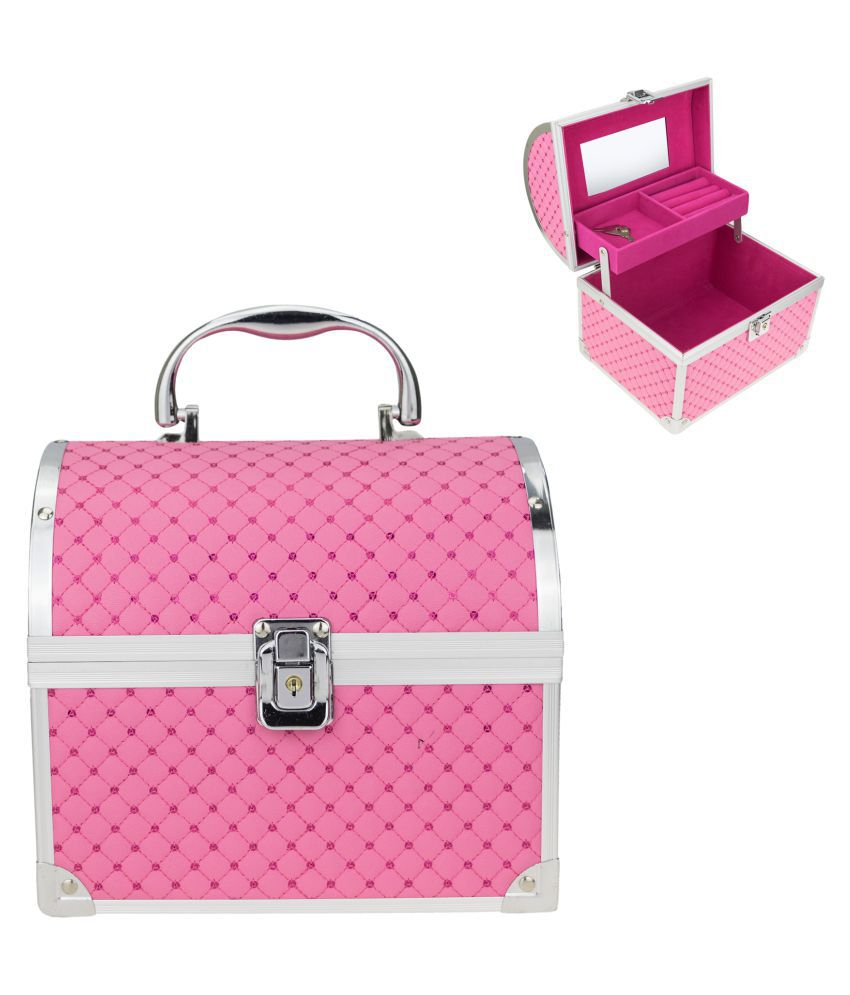 Avenue Designer Pink Jewellery Box