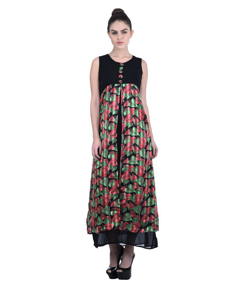 Triraj Georgette Dresses