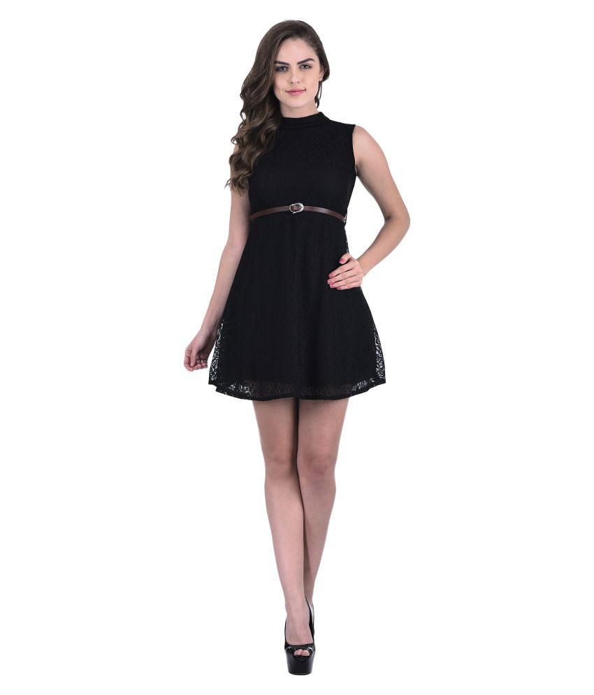 Triraj Net Dresses