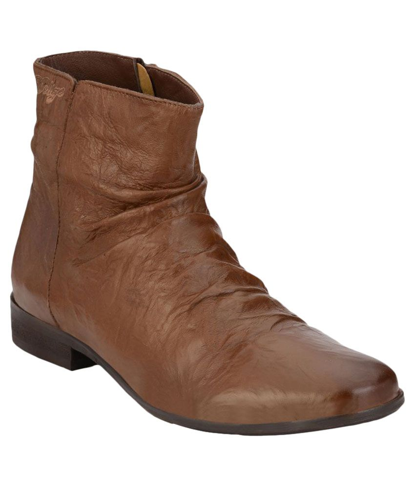 Delize Brown Party Boot