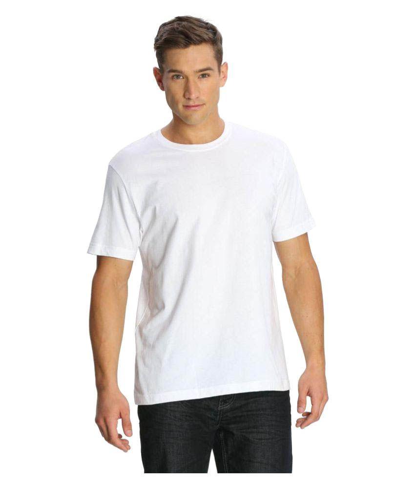 Jockey White Round T-Shirt
