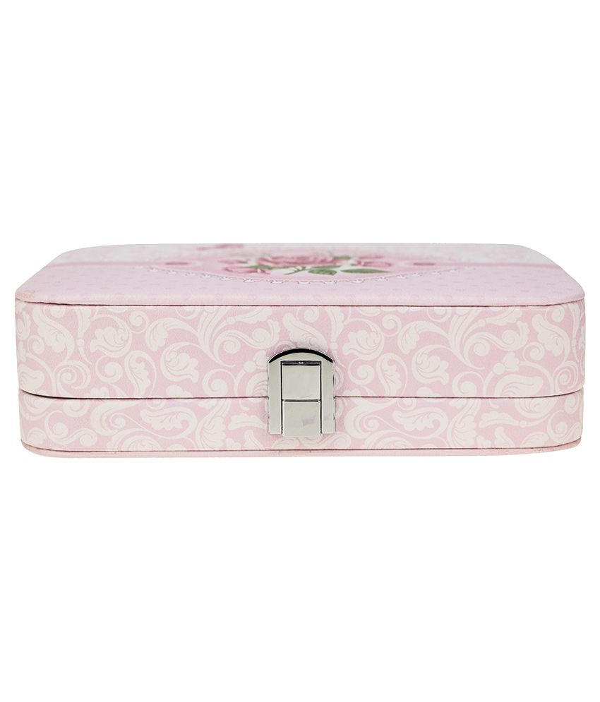 Kaos Pink Wooden Jewellery Box