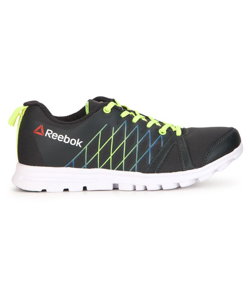 5a2a10910d56 Reebok Pulse Run Black Running Shoes Reebok Pulse Run Black Running Shoes  ...