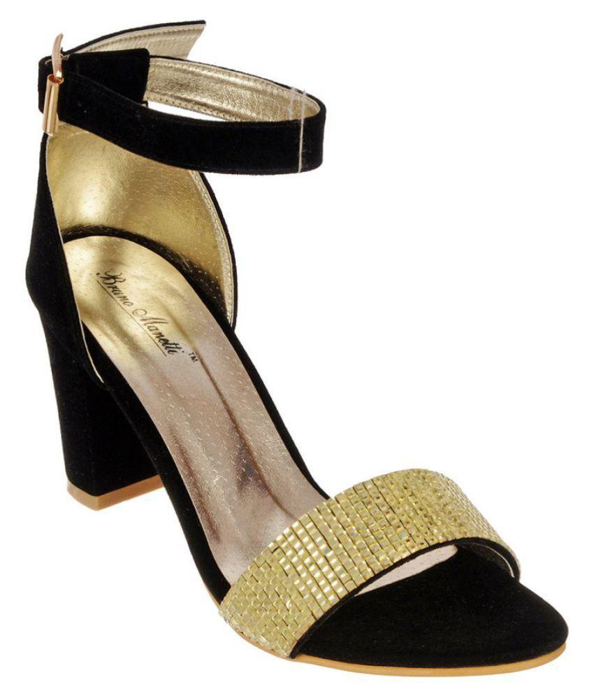 Bruno Manetti Gold Heels