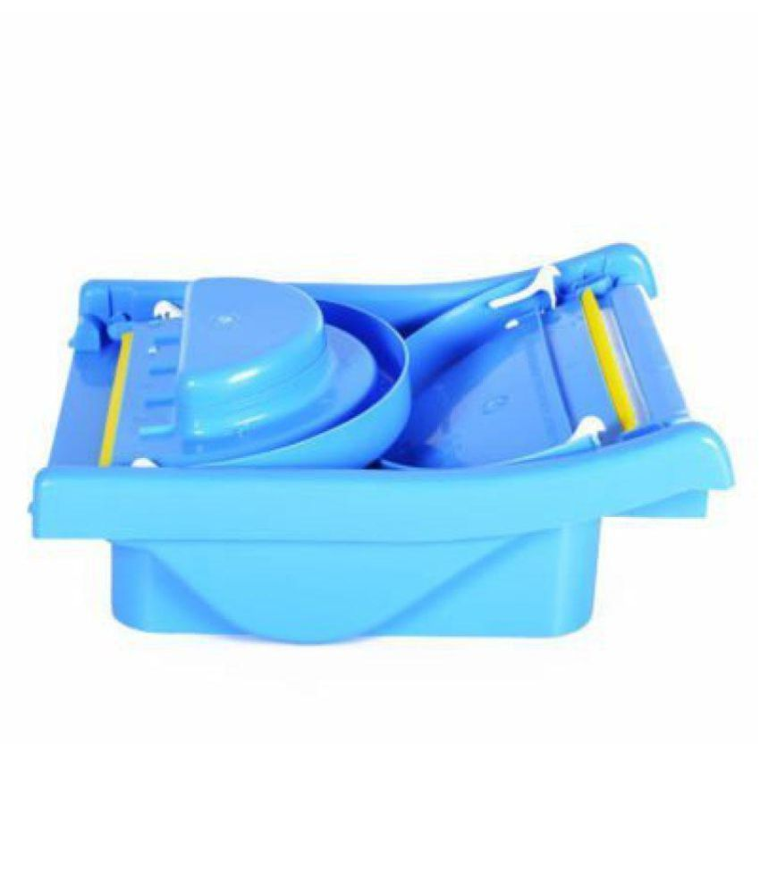 WonderKart Mother\' s Touch Baby Bath Tub With Foldable - Blue: Buy ...