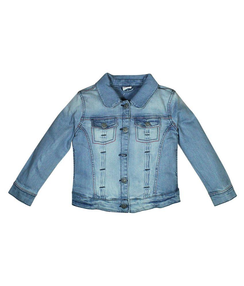 FS MiniKlub Girl's Denim Jacket-Lt Wash