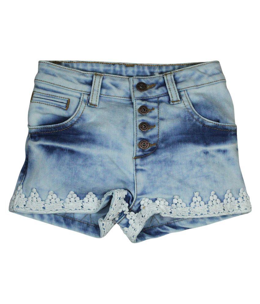 FS MiniKlub Girl's Denim Shorts-Lt Wash