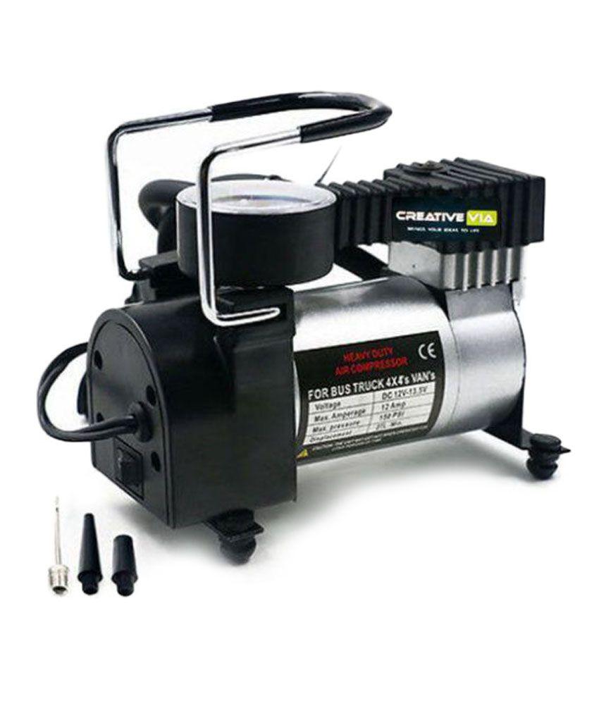 Heavy Duty Metal Air Compressor Tyre Inflator Air Pump